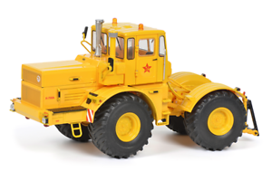 Schuco-07718-1-32-Kirovets-K-700A-Traktor-Gelb-Neu