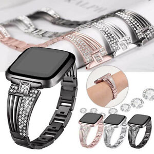 For-Fitbit-Versa-Apple-Smart-Watch-Bands-Strap-Alloy-Metal-Bracelet-Wrist-Band
