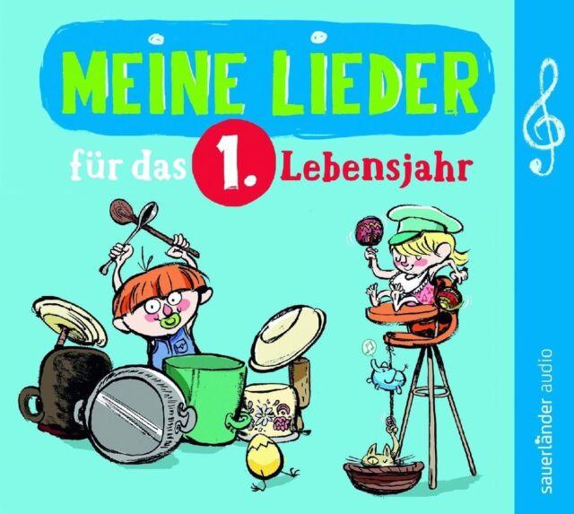 MEINE LIEDER FÜR DAS 1.LEBENSJAHR - FREDRIK VAHLE/KLAUS NEW!HAUS/+  CD NEW!