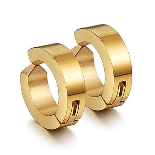 Rock No Hole Jewelry Mens Earrings Modern Magnetic Goth Non Pierced Ear Clip LT
