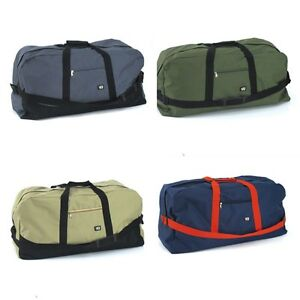 Duffle-Bag-Duffel-Gym-Black-Beige-Blue-Grey-Large-Mens-Travel-70-x-32-x-27cm