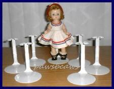 "12 White Kaiser Doll Stands for 8/"" SHIRLEY TEMPLE  9/"" Patsyette U.S.SHIPS FREE"