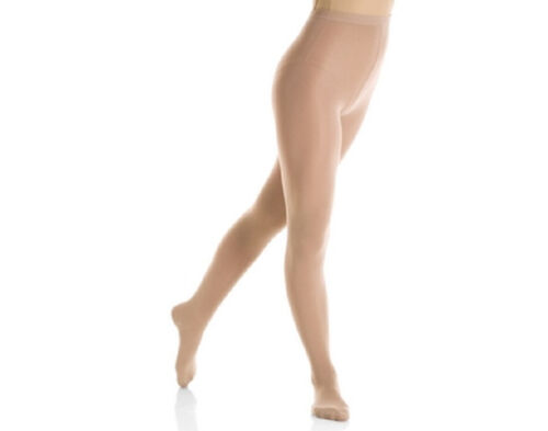 Mondor 3310 Women/'s Size Large Suntan Full Footed Skating Tights
