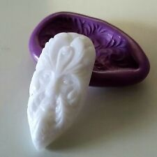 WOODLAND SPIRIT MAN Silicone Mould 46 mm Spiritual Resin Clay Fimo Icing PMC