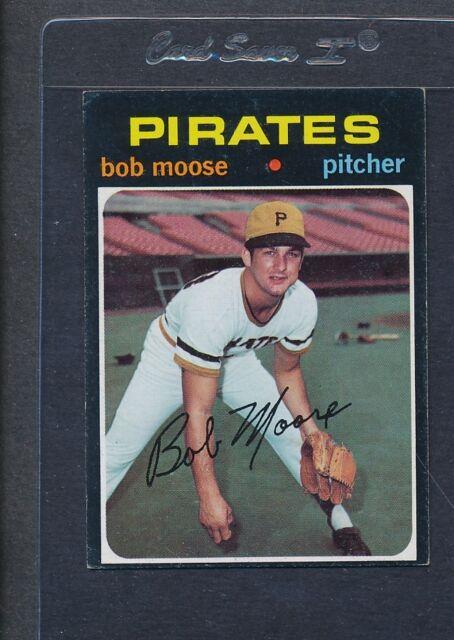 1971 Topps #690 Bob Moose Pirates VG/EX *1579