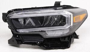 OEM Toyota Tacoma Left Driver Side LED Headlamp 81150-04290 Tab Missing