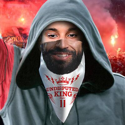 100% Vero Mo Salah Liverpool Maschera Champions Europeo Funny Bandana Egiziano King-mostra Il Titolo Originale Una Grande Varietà Di Merci