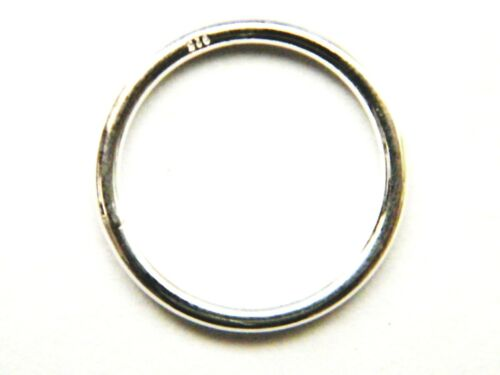 """15mm Sterling Silver Closed Ring /""""Circle-of-Life/"""" Jump Ring Jewellery Making"""
