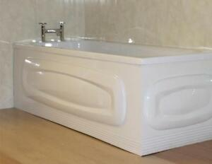 Details about Cavalier Oval White Gloss Acrylic 1700mm X 520mm Bath Front  Panel (152/000)