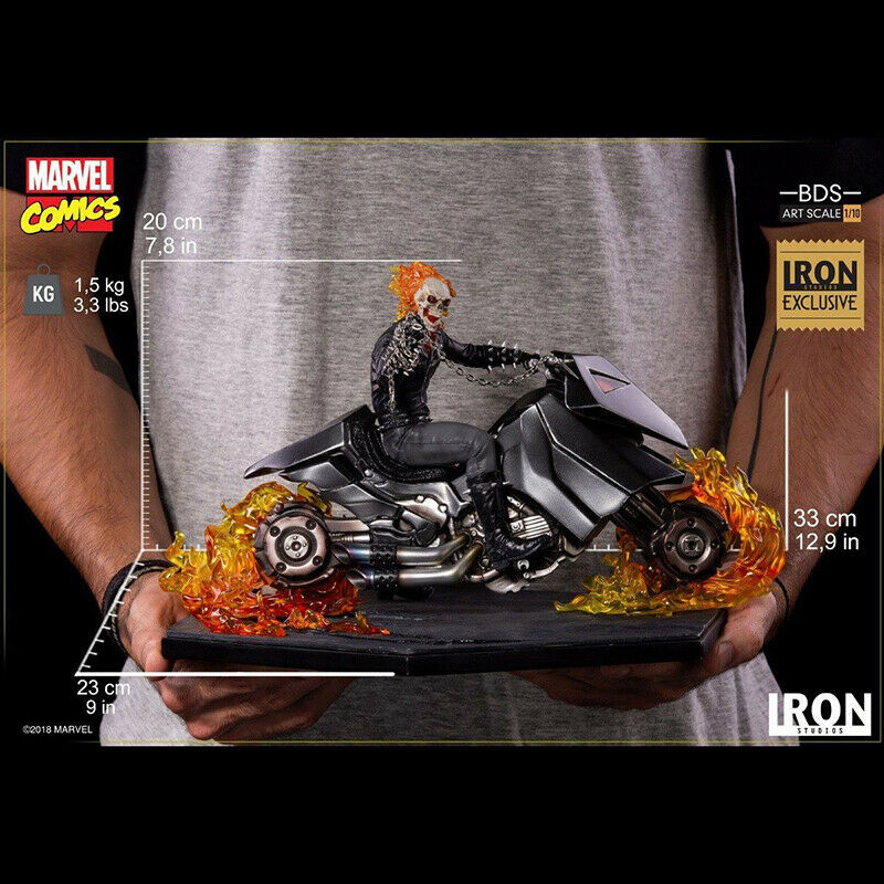 Marvel Comics  Ghost Rider CCXP 2019 Exclusive Iron Studios  110 Statue