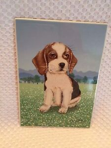 Villeroy-amp-Boch-Vilbo-Card-Porcelain-Card-My-Faithful-Companion-Germany-RARE