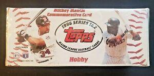 1996-Topps-Series-1-amp-2-Baseball-Complete-Set-Sealed-Hobby-Box