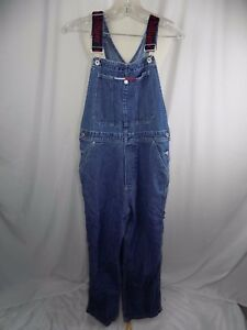 2a9bee6d Tommy Hilfiger Women's Overalls Size M Denim Carpenter Jeans Spell ...