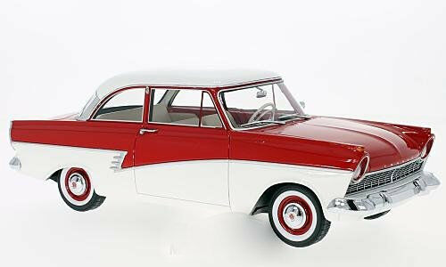 Ford Taunus 17M (P2) red weiss 1957 1 18 BOS     NEW