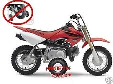 1 SET HONDA CRF OR XR OR Z 50 MOTORCYCLE TRAINING WHEELS . CRF50 XR50 Z50 Z50A!!