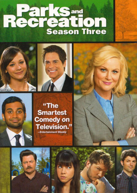 PARKS AND RECREATION - SEASON 3 (BOXSET) (DVD)