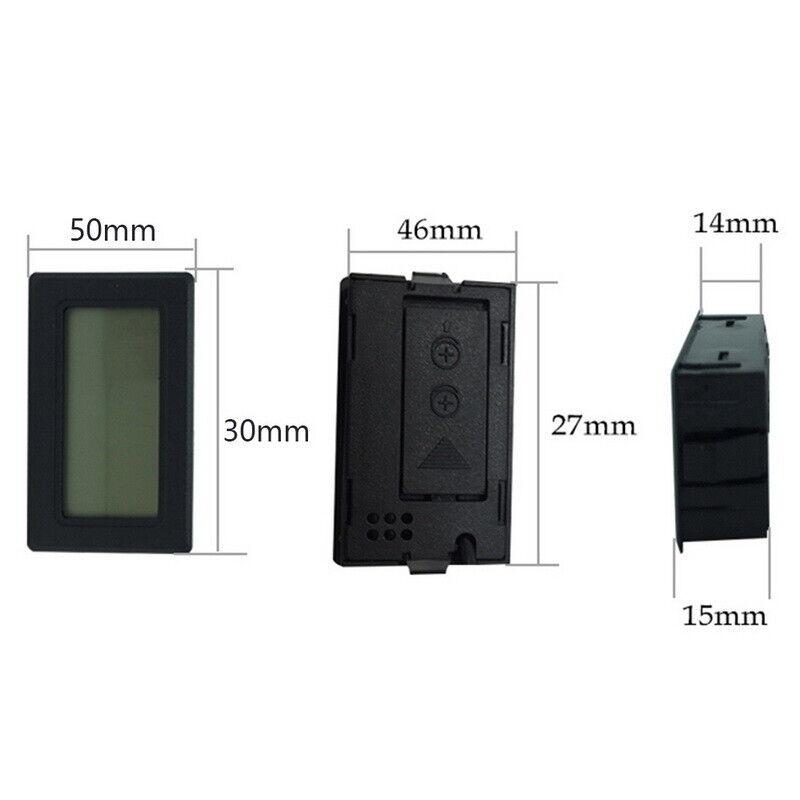 Mini LCD Digital Thermometer Hygrometer Temperature Humidity Meter Gauge