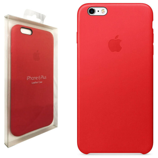 Genuine Apple iPhone 6 6s Leather Case Red