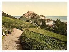Jersey Mont Orgueil Castle Channel Island A4 Photo Print