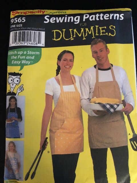 Simplicity Pattern 400 Sewing For Dummies His Hers Aprons 40 Unique Simplicity Apron Patterns