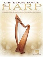 Christmas Songs For Harp Sheet Music Folk Harp Book 000131460