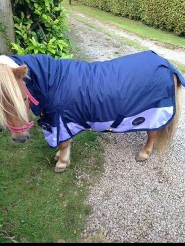"Foal//Shetland Lightweight Turnout Rug Full Neck 4/'0/"""