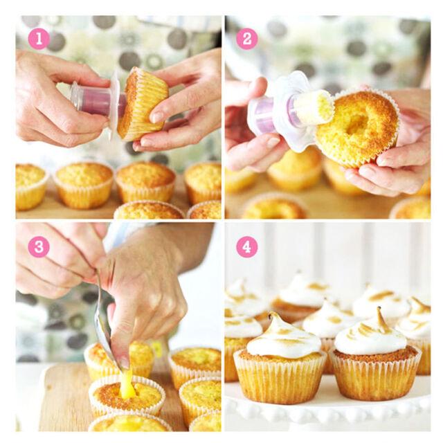 Cupcake corer muffin hole core cream jam filler cutter filling decorating DSUK