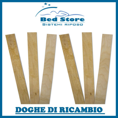 Stave slats for Replacement Networks Network bed wood birch double measure
