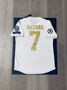 best service 0cd4c f7f42 Details about Eden Hazard Soccer Jersey Player Version Real Madrid Home  Medium