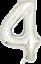 40-034-numero-gigante-foil-aria-elio-Glitz-grandi-PALLONCINI-Festa-Di-Compleanno-Matrimonio miniatura 45