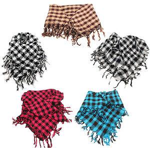 Keffieh-Cheche-Palestinien-Echarpe-Foulard-pour-Homme-Femme-differentes-couleurs