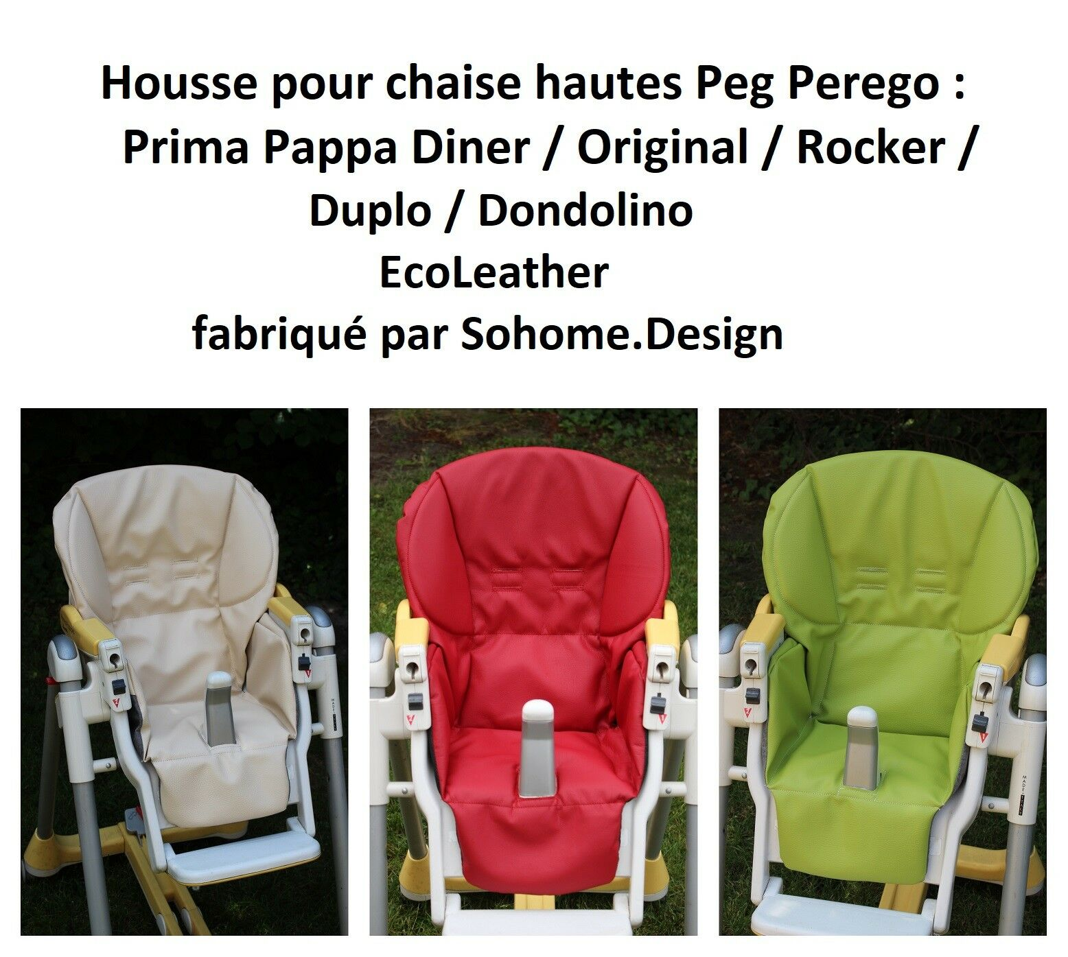 Hautes Rocker Chaise Housse By Peg Pour Sohome design Pappa Diner Perego Prima wOkiTluPXZ