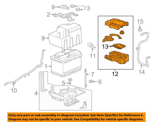 GM OEM-Fuse Relay-Junction Block 84237808