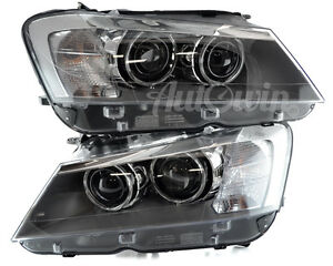 Details about BMW X3 SERIES F25 BI-XENON ADAPTIVE HEADLIGHT LEFT& RIGHT  SIDE GENUINE OEM NEW