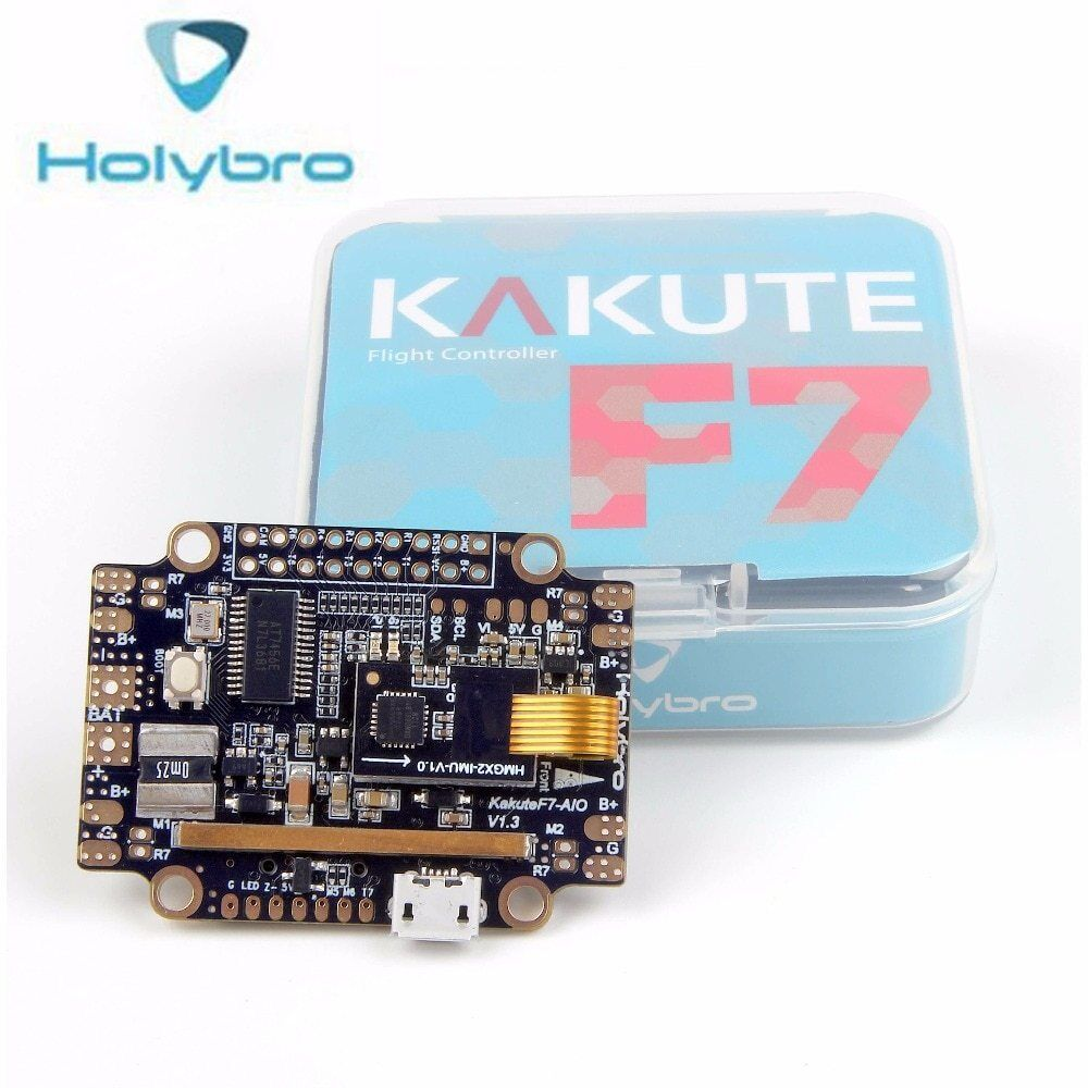 Holybro Kakute F7 AIO Flight Controller STM32 F745 Betaflight OSD Flight Control