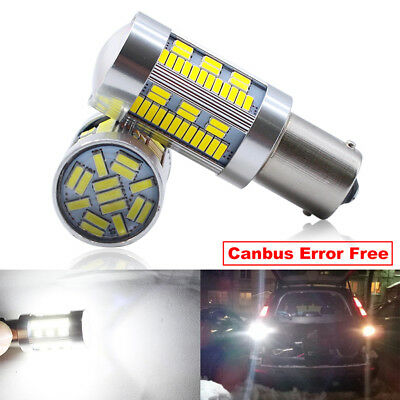 2-Pack. White Turn Signal Lights. Boodlied 20Watts 9-30V 1156 1141 P21W BA15S LED Bulbs Super Bright 3030 35-SMD Chipsets 2000LM LED Bulb For Reversing Reverse Lights
