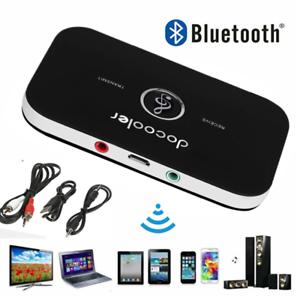2 in 1 Bluetooth Audio Trasmettitore Ricevitore HIFI Musica Adattatore AUX Q1M6