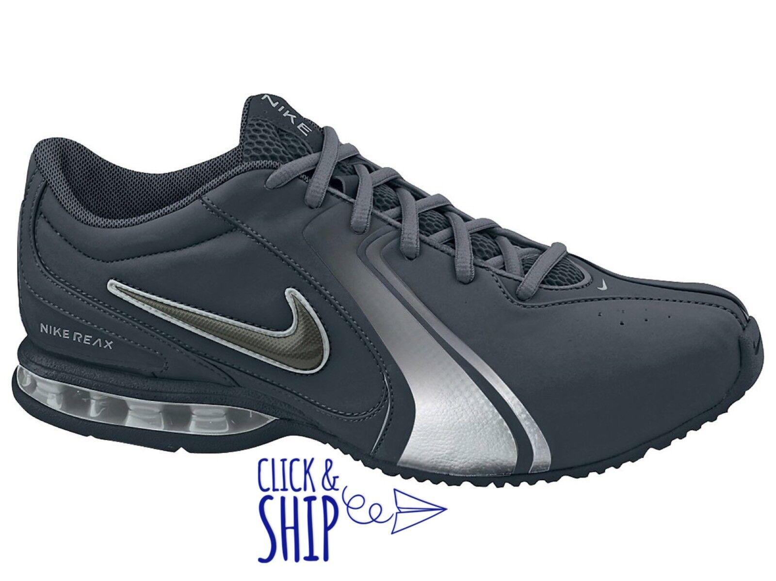 Nike Men's Reax Trainer III 3 SL Training Training Training shoes Sneakers Gym Black Newsprint NEW 672e74