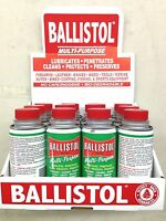 Ballistol Multi Purpose Oil Lubricant Gun Cleaner-lot Of 12-4oz Cans Marine Uses