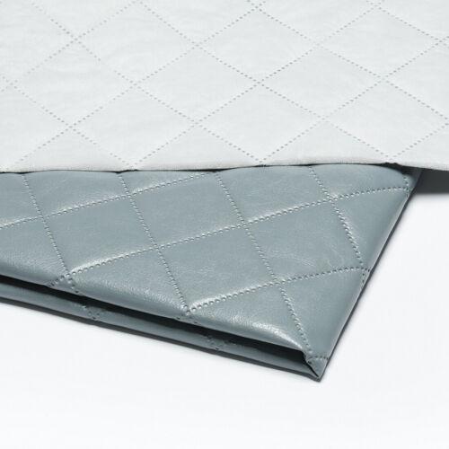 Kunstleder Gestepptes Meterware Möbelstoff Polsterstoff Polster 5x5cm