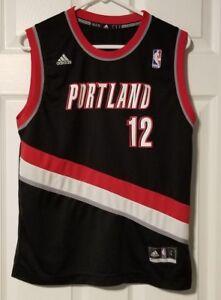 official photos af515 0f3a6 Image is loading Adidas-NBA-Portland-Trail-Blazers-Jersey-LaMarcus-Aldridge-