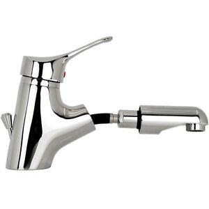 Details zu Wasserhahn für Waschbecken mit Brause Waschtisch Armatur Bad  Waschtischbatterie