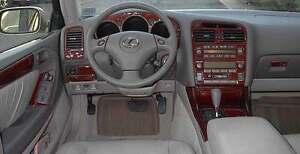 Lexus gs gs300 gs430 interior wood dash trim kit set 2001 01 2002 image is loading lexus gs gs300 gs430 interior wood dash trim sciox Images