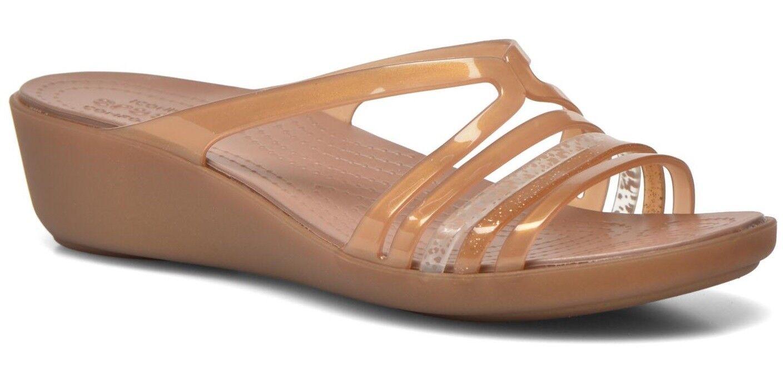 Crocs ISABELLA W Mini Wedge W ISABELLA Bronzo d03e6a
