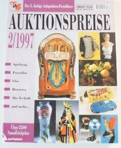 Auktionspreise 02/ 1997 Sammelobjekte Spielzeug Puppen Porzellan Technik B6348