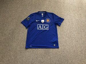Manchester United Anniversary Shirt 2008 Signed JOHN O'SHEA + DARRON GIBSON