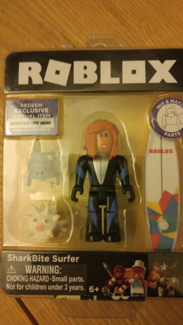 Roblox Sharkbite Music Codes Roblox Sharkbite Surfer Mini Action Figure With Exclusive Virtual