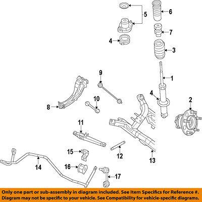 CHRYSLER OEM Rear Suspension-Lower Control Arm 5105272AE | eBayeBay