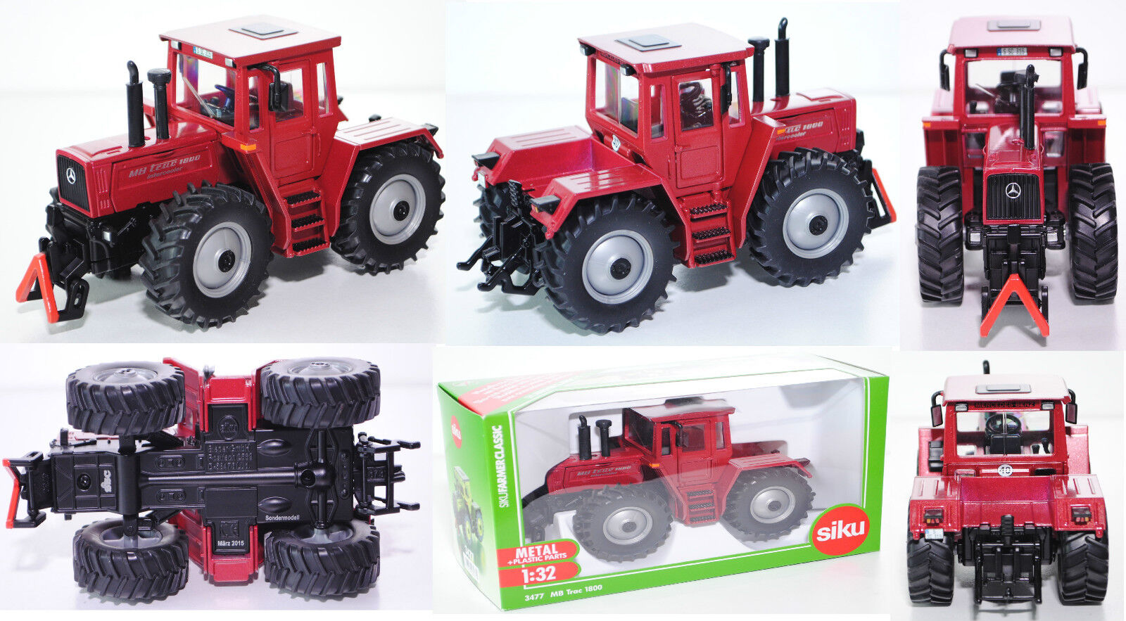 Siku Farmer 3477 MERCEDES-BENZ MB TRAC 1800 INTERCOOLER 1:32 SSC modello speciale