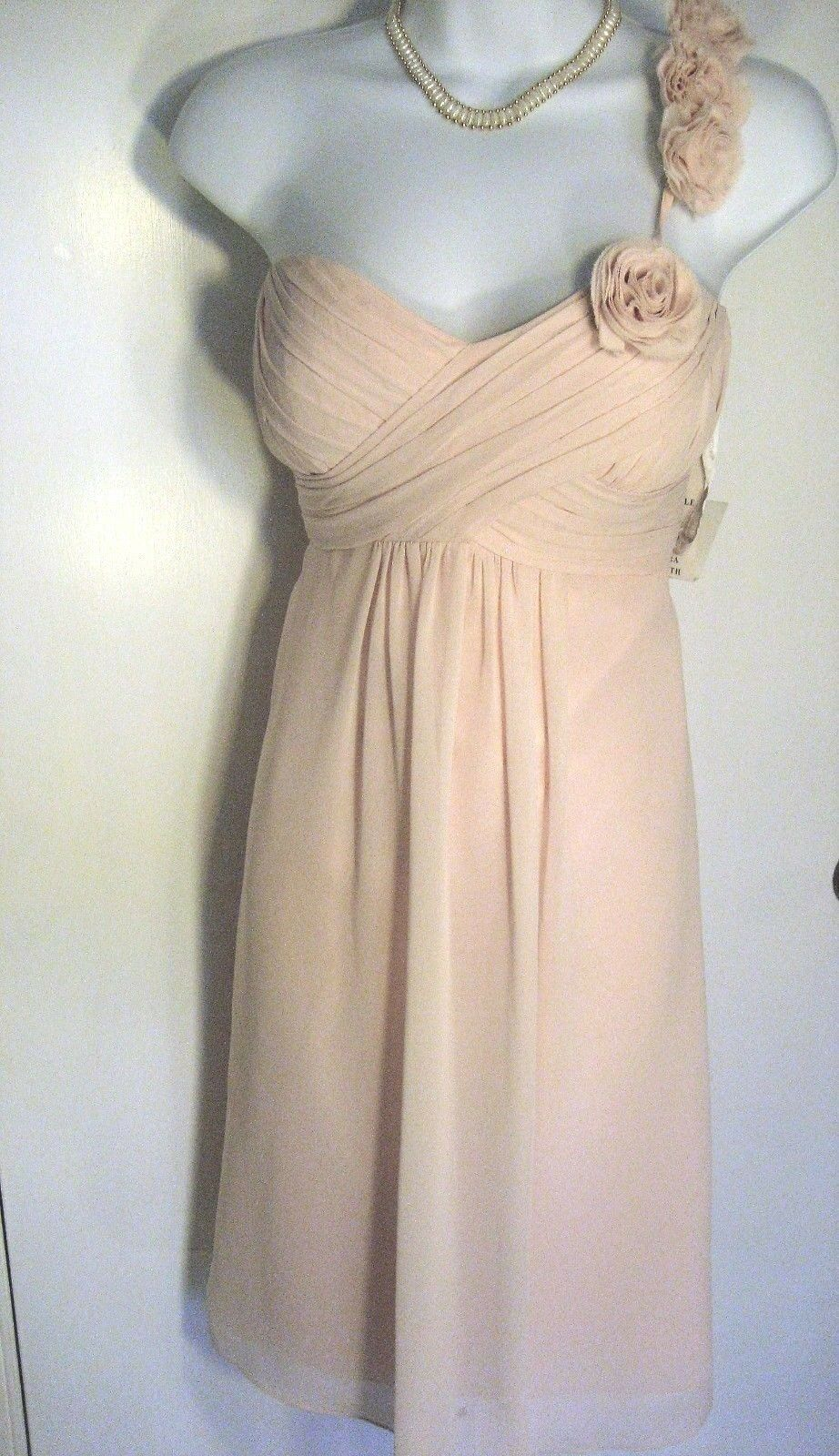 Bill Levkoff Dress NWT PROM Dance 10 Bridesmaid Homecoming Quinceanera Pink